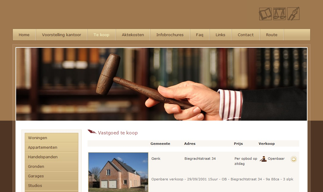 Notary website