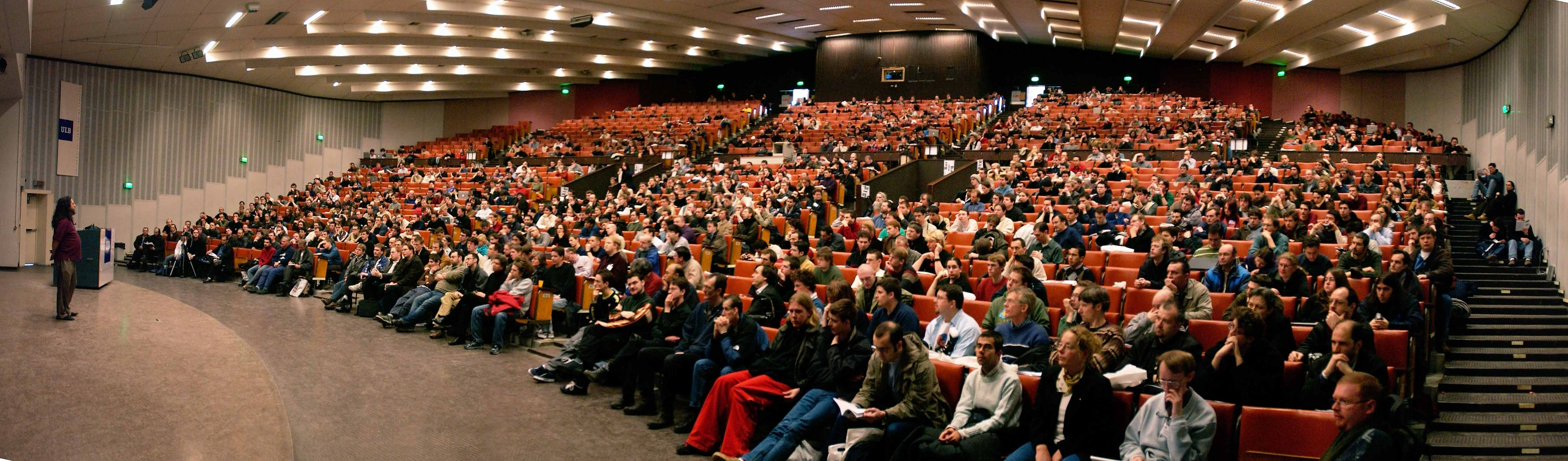 FOSDEM event in Brussels on 30 & 31 January 2016